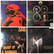 BLACK SABBATH OZZY OZBOURNE album vinyl LP record (Auction#36) $20 or b.o./each