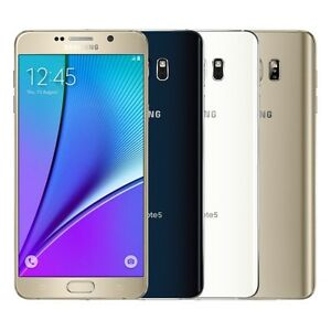 """Samsung Galaxy Note 5  SM-N920A 32GB (FACTORY UNLOCKED) 5.7"""" SmartPhone 4GB RAM"""