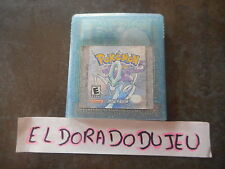 ELDORADODUJEU > POKEMON CRYSTAL VERSION CRISTAL NINTENDO GAME BOY COLOR GBC USA