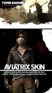 Tomb Raider Aviatrix Skin & Shanty Town Multiplayer Map DLC Pack [Xbox 360] NEW