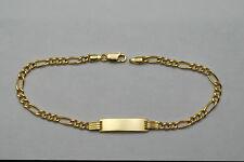 18K gold baby bracelet