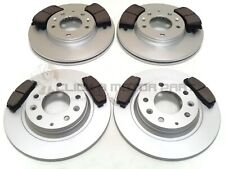 FRONT AND REAR BRAKE DISCS & PADS NEW SET 2002-2007  FOR MAZDA 6 2.0D 2.0 2.3