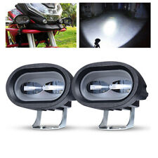 2X LED Work Light Spot 20W Bar White Pods Off-road Motorcycle ATV SUV 4WD Truck