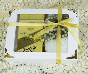 Ramadan Eid Islamic Halal Perfume Set Gift Hamper for Man Him Husband Friend Dad