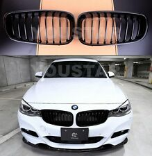 FAST EMS Pair GLOSS BLACK KIDNEY GRILLS for BMW 3 SERIES F34 Gran Turismo GT