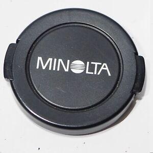 Genuine Minolta 55mm Lens Cap fits lens with 55mm filter thread