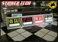 1:10 1:8 SCALE FOR SALE STICKER DECAL SIGN FITS AXIAL SCX10 TAMIYA  RC4WD TF2