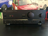 TECHNICS SU-V670 STEREO INTEGRATED AMPLIFIER NEW CLASS AA VC4 TESTED WORKING