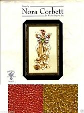 Mirabilia Counted Cross Stitch Chart with Bead Pack ~ LILLY #110 Sale