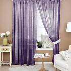Voile Tulle Door Window Curtain Balcony Drape Panel Sheer Scarfs Valances 1*2m