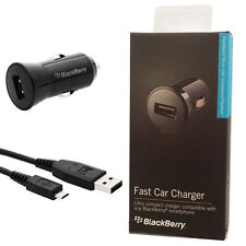 OEM Blackberry Micro USB Fast Rapid Car Charger For DTEK50 Priv Classic Passport