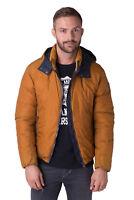 COLMAR Down Puffer Jacket Size 48 / M Garment Dye Detachable Hood RRP €445