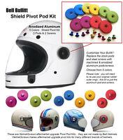 Shield Pivot Pod Kit for Bell Bullitt / Bell Riot Helmet  Anodized Bullit Bulitt