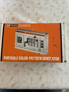 BK Precision 1211 Portable Handheld Color Pattern Generator