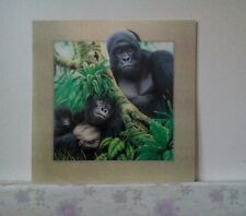 5D Lenticular Holographic Stereoscopic Picture Gorilla Wall Art
