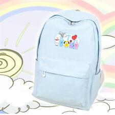 KPOP BTS BT21 Backpack Bangtan Boys SUGA V J-HOPE Bookbag Shoulder Bag KOYA TATA