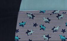 (EUR 14,80/m) Stoffpaket Jersey Einhorn2x0,50m+0,25m= 1,25m (Art 1124)