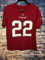 NFL TEAM APPAREL TAMPA BAY BUCS T-SHIRT# 22 DOUG MARTIN SIZE M
