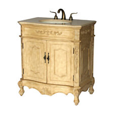 32-Inch Antique Style Single Sink Bathroom Vanity Model 1905-32B