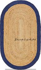 6 X 9 Braided Floor Reversible Handmade Indian Cotton Decorative Carpet Rag Rugs
