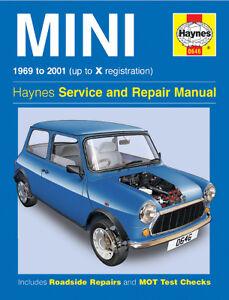 Leyland Mini Workshop Repair Manual from 1969-2001 with MPN HA0646