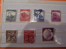 Briefmarken Deutschland  - Deutsches Reich Deutsche Eisenbahnen 1935