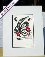 New art print RAVEN TRICKSTER by Gitskan British Columbia artist DANNY DENNIS