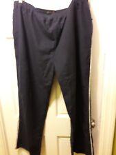 NWT Perry Ellis Navy Blue Size XXL Casual Athletic Pants Full elastic waist