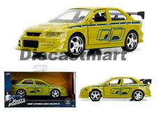 Jada 1:32 Fast & Furious Brian's Mitsubishi Lancer Evolution VII Green 99789 Car