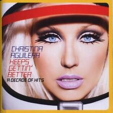 Christina Aguilera Keeps gettin' better-A decade of hits (2008, CD/DVD) [2 CD]