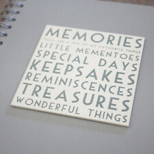 East of India Memories Guest Book/ keepsake Album Birthday / Anniversary Present