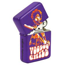 Hendrix Voodoo Child Lighter. 60s Windproof Fliptop Refillable Gift for Him