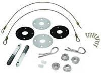 HOOD PIN KIT W/HARDWARE 1970-72