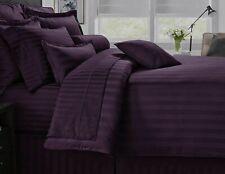 (2) Luxor 100% Egyptian Cotton 400 TC Pillowcase ~ Purple ~ King 18 x 39 NEW