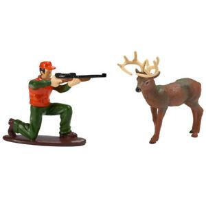 1 Deer Hunter Hunting Decoset Birthday Party Cake Topper Decoration Decor