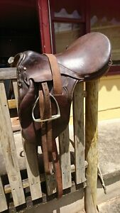 Used Stock Saddle fully mounted