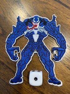 Spider-Man Venom Marvel Horror Movie Iron-on Embroidered Rock Band Patch #57