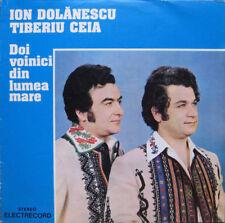 Ion dolanescu & tiberiu AEFA-doi voinici din lumea mare rumanian folk lp m -/m -