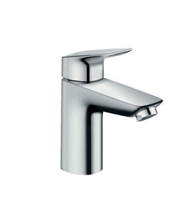 Hansgrohe Logis Single Lever Basin Mixer 100 Without Waste 71101000