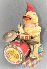 Daisy the Jolly Drumming Duck 1950's Japan by Alps Shoji Ltd. Vg / Working