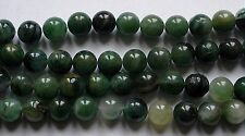 5 rondes 8 mm African Jade.