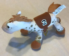 Disney Spotted Bullseye Plush Toy 2 Race Horse Stuffed Animal Appy Pre Owned