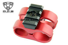 A.P.S. Airsoft Toy CAM 870 Type S Barrel Mount (Red) (Toy Only) APS-CAM076