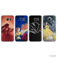 Beauty and the Beast Gel Case for Samsung S6 S7 EDGE S8 PLUS Screen Protector