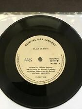 "Michael Jackson 7"" (SP)- JUKE BOX "" BLACK OR WHITE "" PROMO BRESIL BRAZIL 901.100"