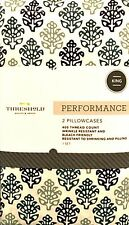Threshold Pure Cotton Pillowcases 2 King Global Foulard Soft 400 Thread Ct