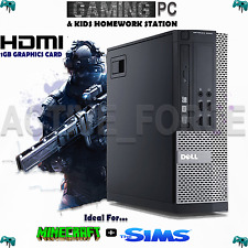 ULTRA FAST CORE i5 Desktop Gaming PC Bundle 8GB 1TB HDD WIN 7 WiFi ANTIVIRUS
