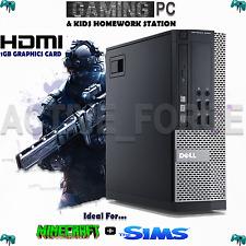 ULTRA FAST CORE i5 Desktop Gaming PC Bundle 8GB 1TB HDD WIN 7 WiFi ANTIVIRUS