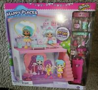 Shopkins Happy Places Happyville High Sschool Prom Playset w/  EXCLUSIVE PETKINS