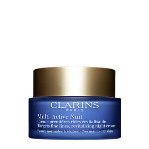Clarins Multi-Active Night Comfort Cream - Normal to Dry Skin 50ml AU Stock